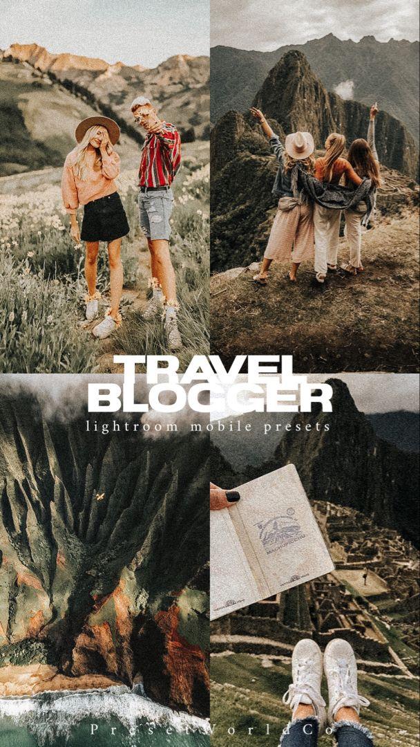 10 Best Seller Travel Blogger Lightroom Mobile and Desktop Presets Travel Blogger Set Sale PresetsBlogger StyleVSCOTavel PresetsPreset