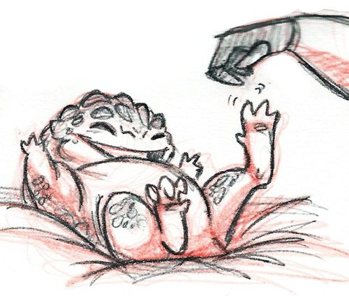 Source:the-scribe-of-tuchanka This little krogan had a krantt This little krogan…