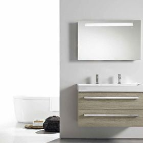 """""""INTEGRALI"""" section identifies all models of Berloni Bagno production where the top is integrated with the basin and it is realised in ceramic, glass or mineral marble material. Elegant, innovative, eclectic and personal. A stroke of innovation to your most intimate part of the house."""