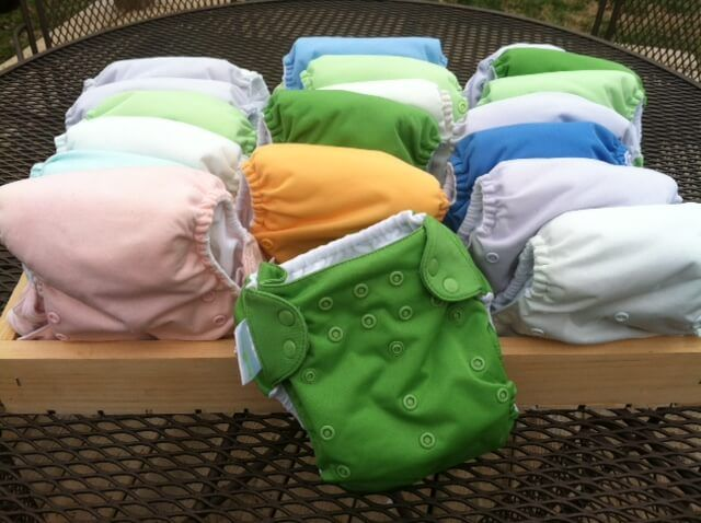 Why cloth diapering is healthier and cheaper how to save money cloth diapering |  #wellnessmama #clothdiapers