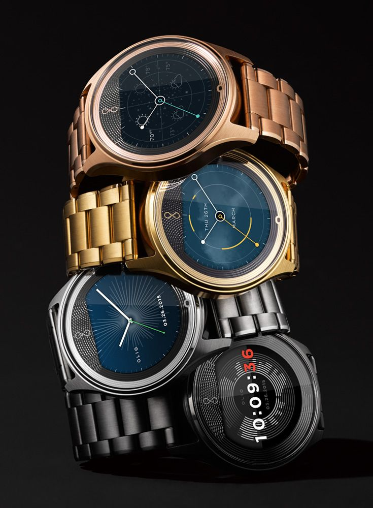 [Icon of the brave] Choose the style you love independent of the technology you use. Meet the Olio Model One. iOS/Android compatible. More than a smartwatch. #OlioDevices