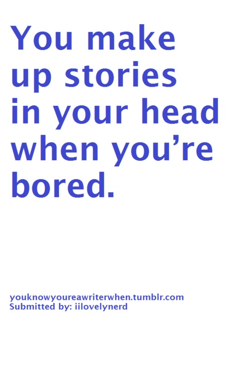 You're Bored? That's So AWESOME.
