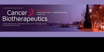 런던 암생물학적치료 컨퍼런스 Cancer Biotherapeutics 2016 Cancer Biotherapeutics Conference