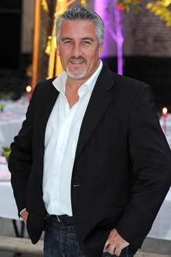 celebrity chef paul-hollywood- because he is yummy...and so is his food...so i hear! :)