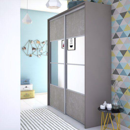 best 25 porte de placard coulissante ideas on pinterest portes coulissantes de placard porte. Black Bedroom Furniture Sets. Home Design Ideas