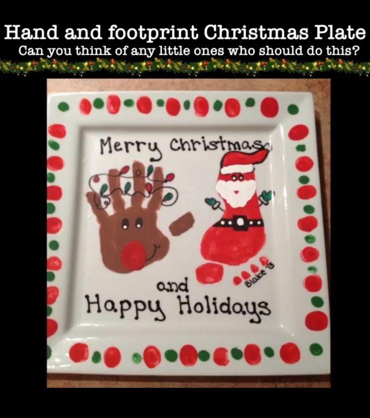 Xmas Handprint Crafts