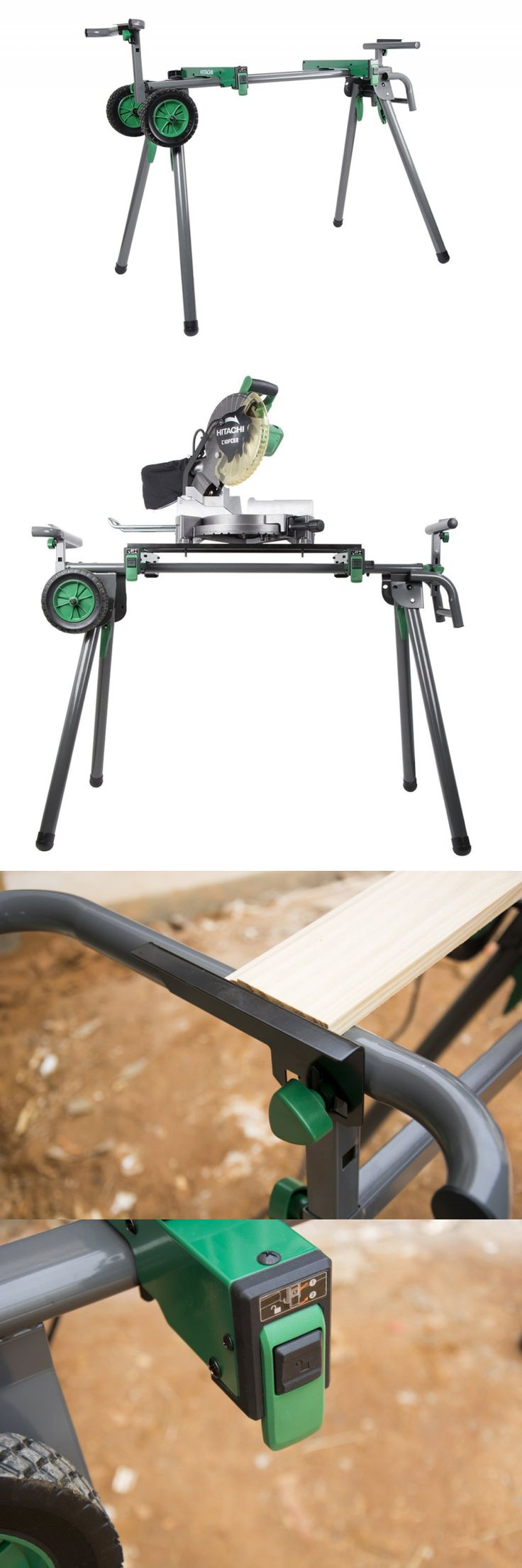Miter and Chop Saws 20787: Hitachi Uu240f Heavy-Duty Portable Miter Saw Stand -> BUY IT NOW ONLY: $140.92 on eBay!