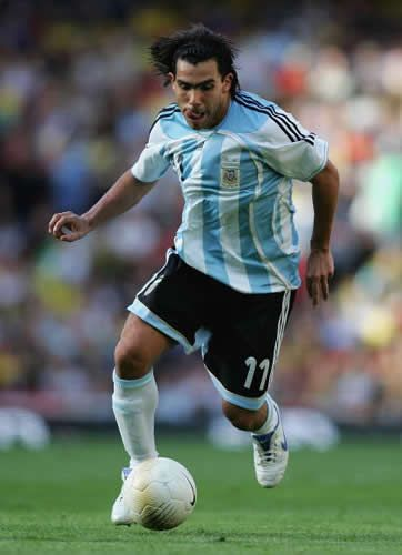 World Cup 2006 - Argentina - Carlos Tevez - Unfortunately no Tevez in Brazil.....Good job Franco Di Santo made the squad!