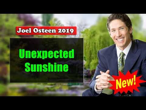 Joel Osteen ( March 30, 2019 ) - NEW SERMON: Unexpected