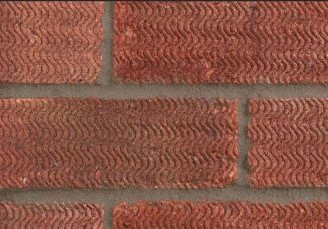 The Lbc Rustic Bricks Are A Dark Red