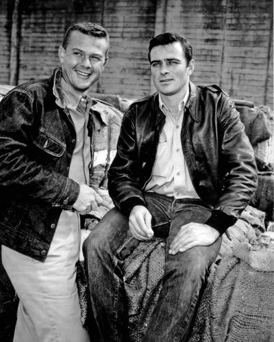 Martin Milner & Glenn Corbett rode Route 66 for three years in the classic 1960s TV show