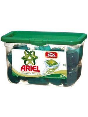 ARIEL 32x35g Active Gel Capsules Mountain Spring Żelowe kapsułki piorace (32 prania)  • ekonomiczne • szybko działają • oszczędne • precyzyjne