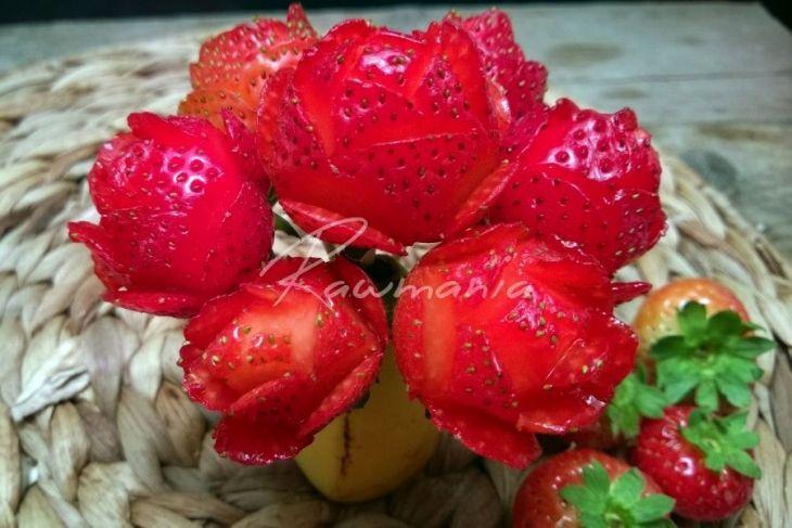 Jahodové růžičky