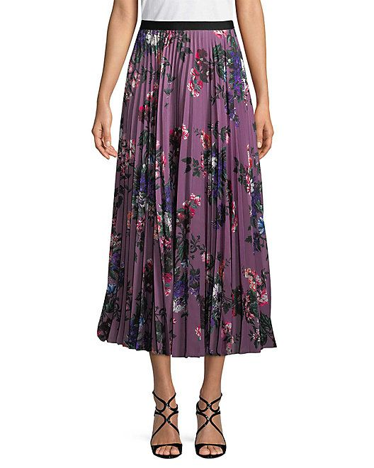 15e5c0918 Erdem Pleated Floral Skirt #Pleated, #Erdem, #Skirt | Women's Lingerie  Pictures in 2019 | Floral pleated skirt, Skirts, Fashion