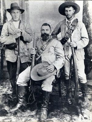 The Boer and his Mauser rifle