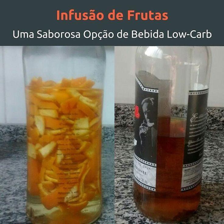 Além de gostoso e low-carb uma infusão de cachaça (ou vodka) com alguma fruta é…