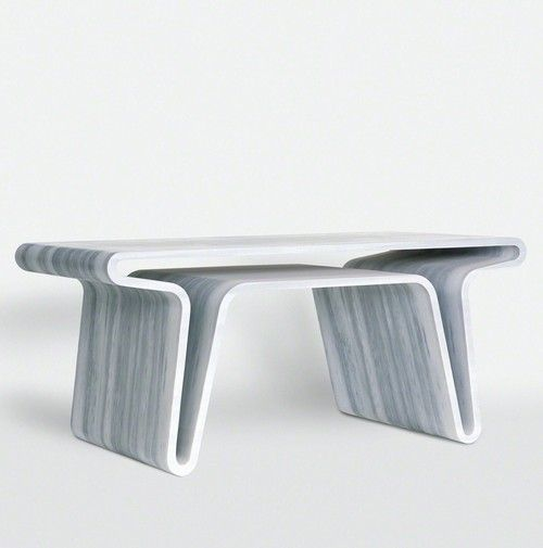 Marc Newson, Extruded Table 3, 2007