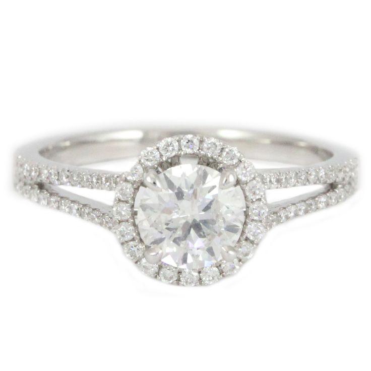 Split-shank Diamond Amazement #finejewellery #londongoldauctions #inspiration #diamondring #engagementring