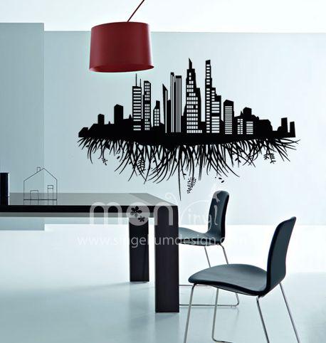25 ideas destacadas sobre decoraci n de paredes en for Stickers para decorar paredes
