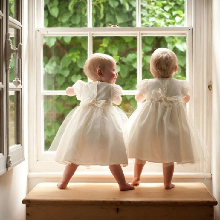 """Side by side on the window sill. Love the way one is looking at the other'Isn't this fun???"""""""