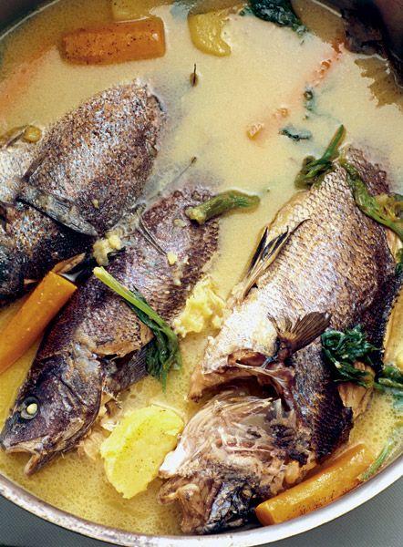 Ψαρόσουπα αβγολέμονο (Αναστάσιμη συνταγή του Αγίου Όρους)