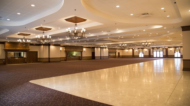Our 3 Banquet Halls Open Into One Large Space