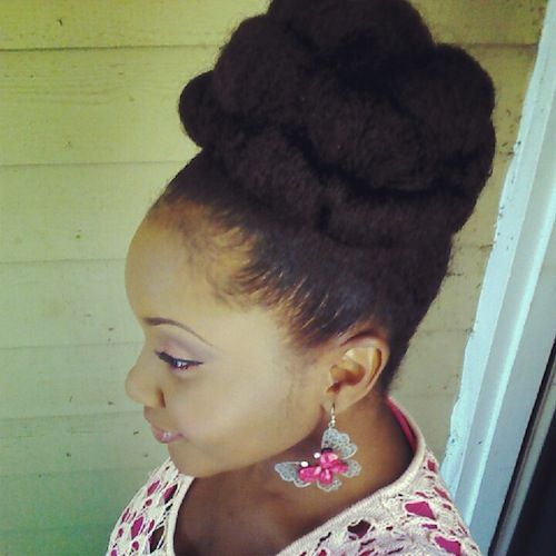 natural hair bun styles tammy 4a hair style icon style faux bun and updo 1517 | 5468b58817cdfc4988ae21327bcbbce4