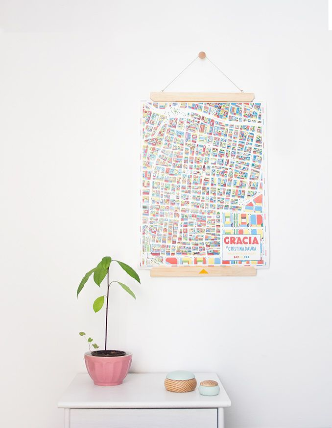 The product portaláminas >> wall art hanger is sold by umbilical in our Tictail store.  Tictail lets you create a beautiful online store for free - tictail.com