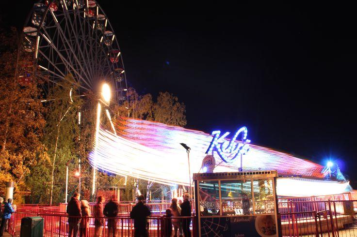 Kehrä nousee - Valokarnevaali 2014