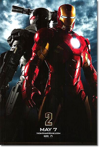 ■両面印刷Ver■ [映画ポスター] アイアンマン2 (IRON MAN 2) [DS] フェーマス サイン