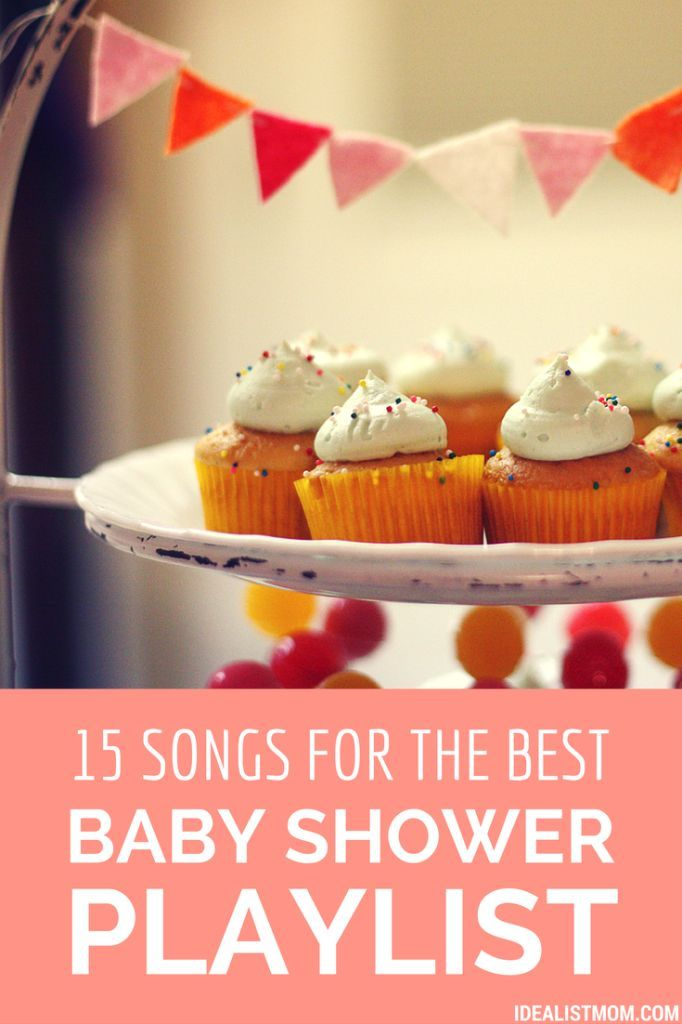 Planning a baby shower? Here's a playlist of baby shower songs worthy of listening to LONG after the non-alcoholic punch bowl has gone dry!