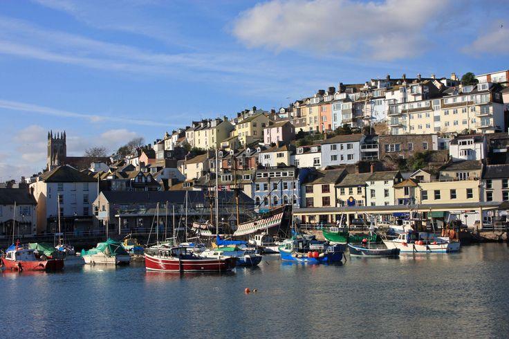 Brixham Harbour, Devon, UK