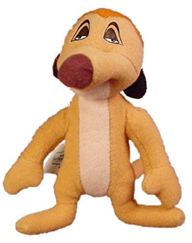 Timon - Disneys Lion King Ii: Simbas Pride - Mcdonalds Soft Plush Happy Meal Toy #3 @ niftywarehouse.com #NiftyWarehouse #Disney #DisneyMovies #Animated #Film #DisneyFilms #DisneyCartoons #Kids #Cartoons