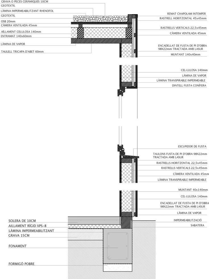 Galería de 50 Detalles constructivos de arquitectura en madera - 156