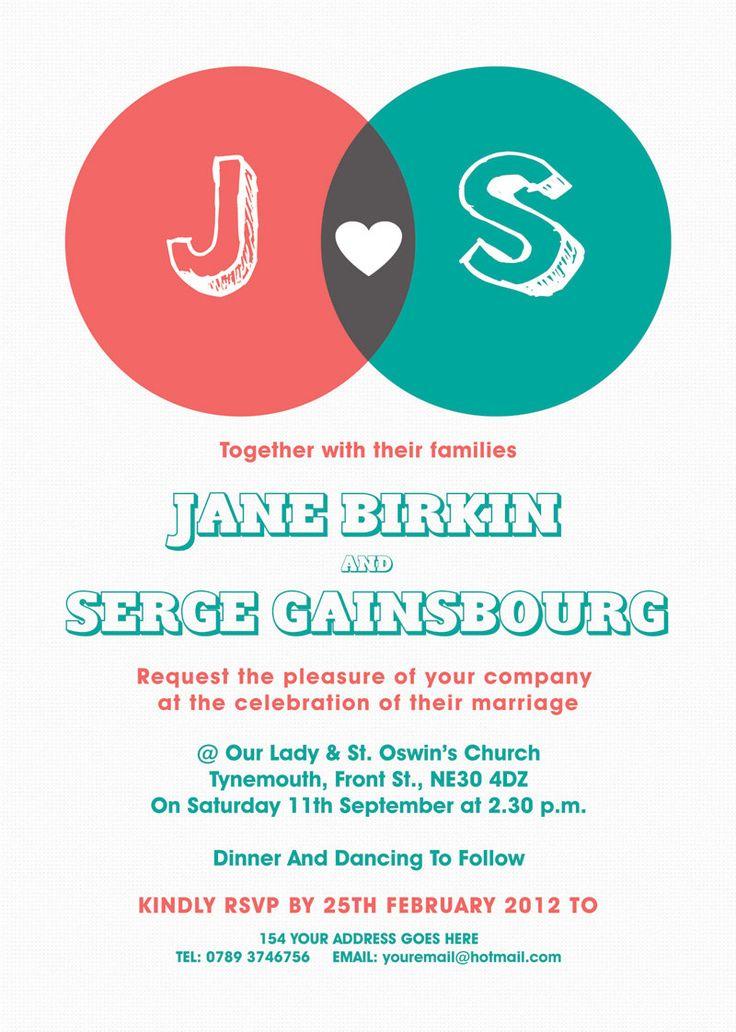 The 25 best Modern wedding invitation wording ideas on Pinterest