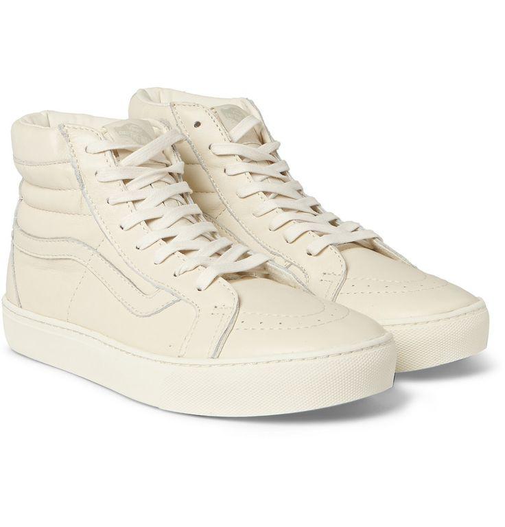 Vans - SK8-Hi Cup CA Leather High-Top Sneakers | MR PORTER