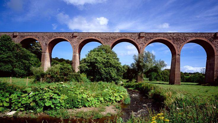 Das Tassagh-Viadukt, Grafschaft Armagh