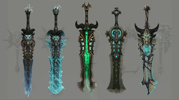Frost - Icebringer and Frostreaper (Blades of the Fallen Prince)