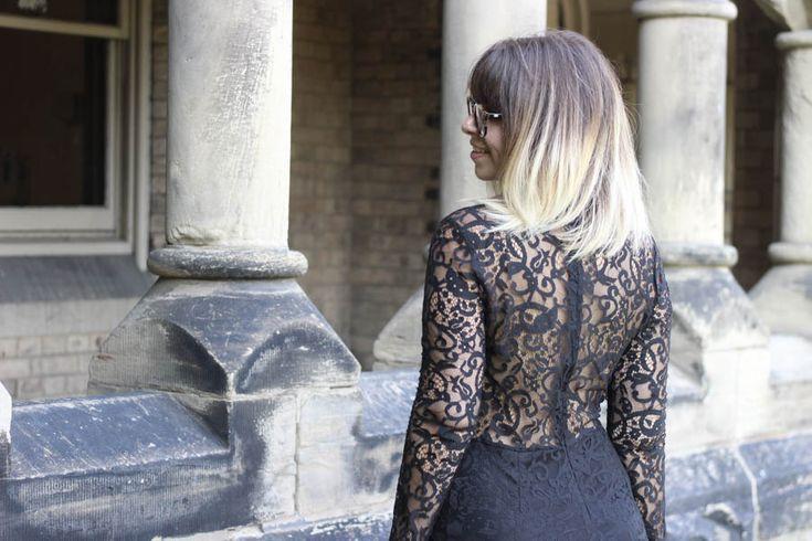 petite robe noire dentelle