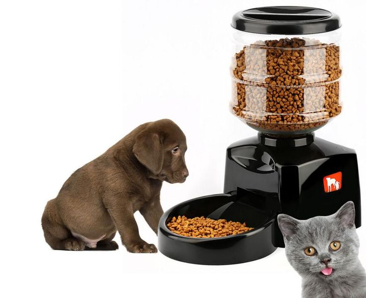 VILEAD Super Smart Pet Automatic feeder 5.5 Liter Large Timer Automatic Pet Dog Cat Feeder Electronic Portion Control // Worldwide FREE Shipping //     #dogsupplies