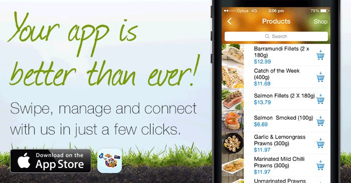 Shop on the go with the new Aussie Farmers Direct iPhone/iPad App. Download yours today and make grocery shopping more convenient.