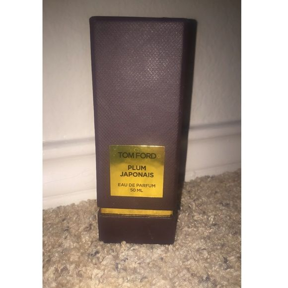 Never used! Plum Japonais fragrance Tom Ford Sexy, sensual, Japanese plum, saffron, cinnamon,immortelle, plum blossom, camellia, agar wood, amber, benzoin, for, and vanilla. Tom Ford Other