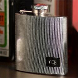 Personalized Engraved Bootleg Flask