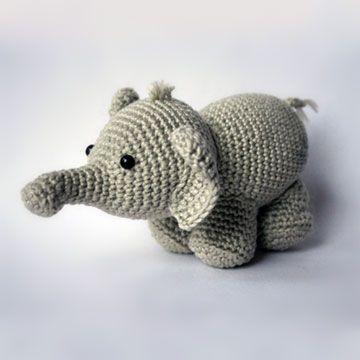 Olivier the elephant amigurumi pattern