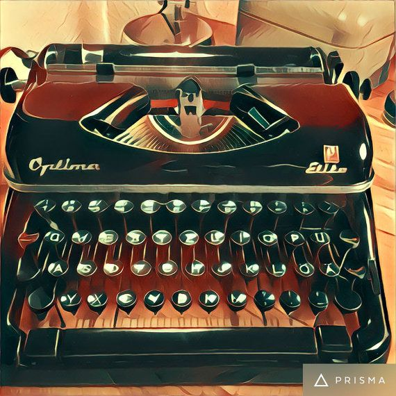 Optima Elite 2 1954 Vintage portable german typewriter