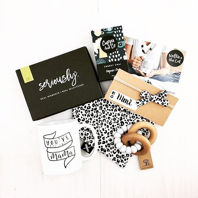 WEBSTA @seriously_milestones How sweet is this stash from our stockist @nellieandthecat ?! So many awesome products that you can bunch together into the ultimate present 🙌🏻