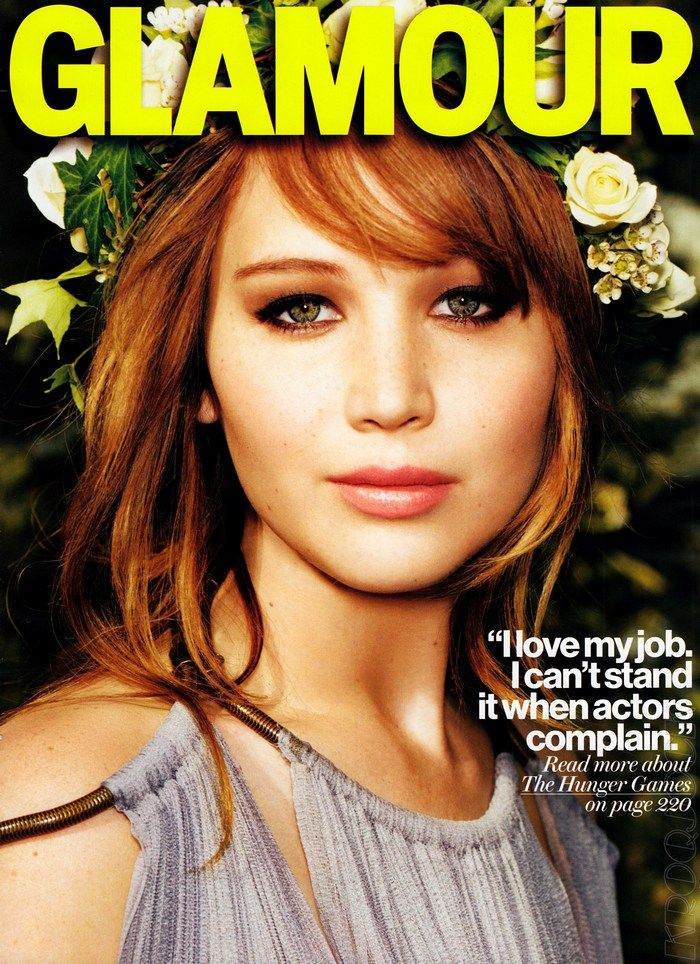 44 best jennifer lawrence magazine covers images on pinterest take a look at the long hairstyles worn by the hunger games starlet jennifer lawrence during 2012 which come in diverse styles such as ponytails updos voltagebd Image collections
