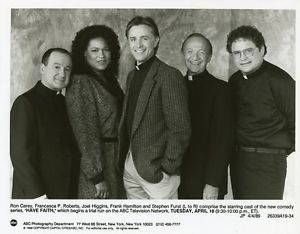 Have Faith was a short-lived ABC television sitcom that ran for 7 episodes in 1989 Joel Higgins -Francesca P Roberts -Ron Carey , Stephen Furst.