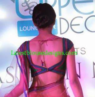 Low Back Neck Blouse | Latest Blouse Designs