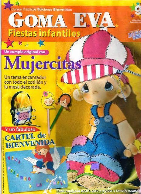 Revistas de manualidades Gratis: Fiestas infantiles foamy